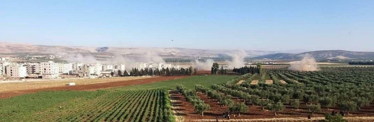 Afrin de terör saldırısıyla hayatını kaybeden 13 sivil toprağa verildi #4