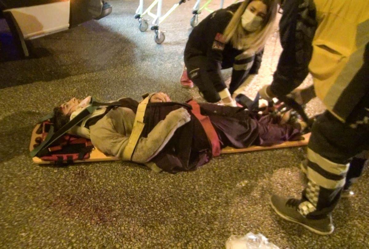Erzurum da kavşakta kaza: 10 yaralı #2