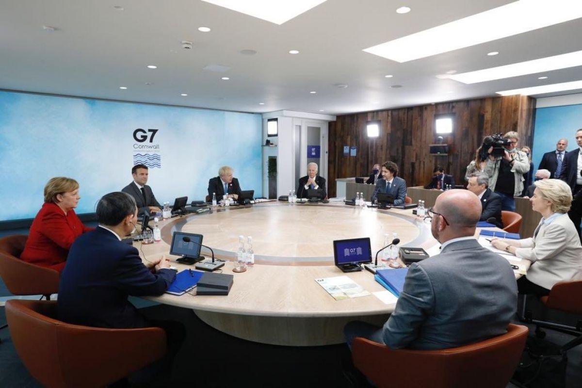Biden dan Çin in Bir Kuşak Bir Yol una alternatif altyapı planı #1