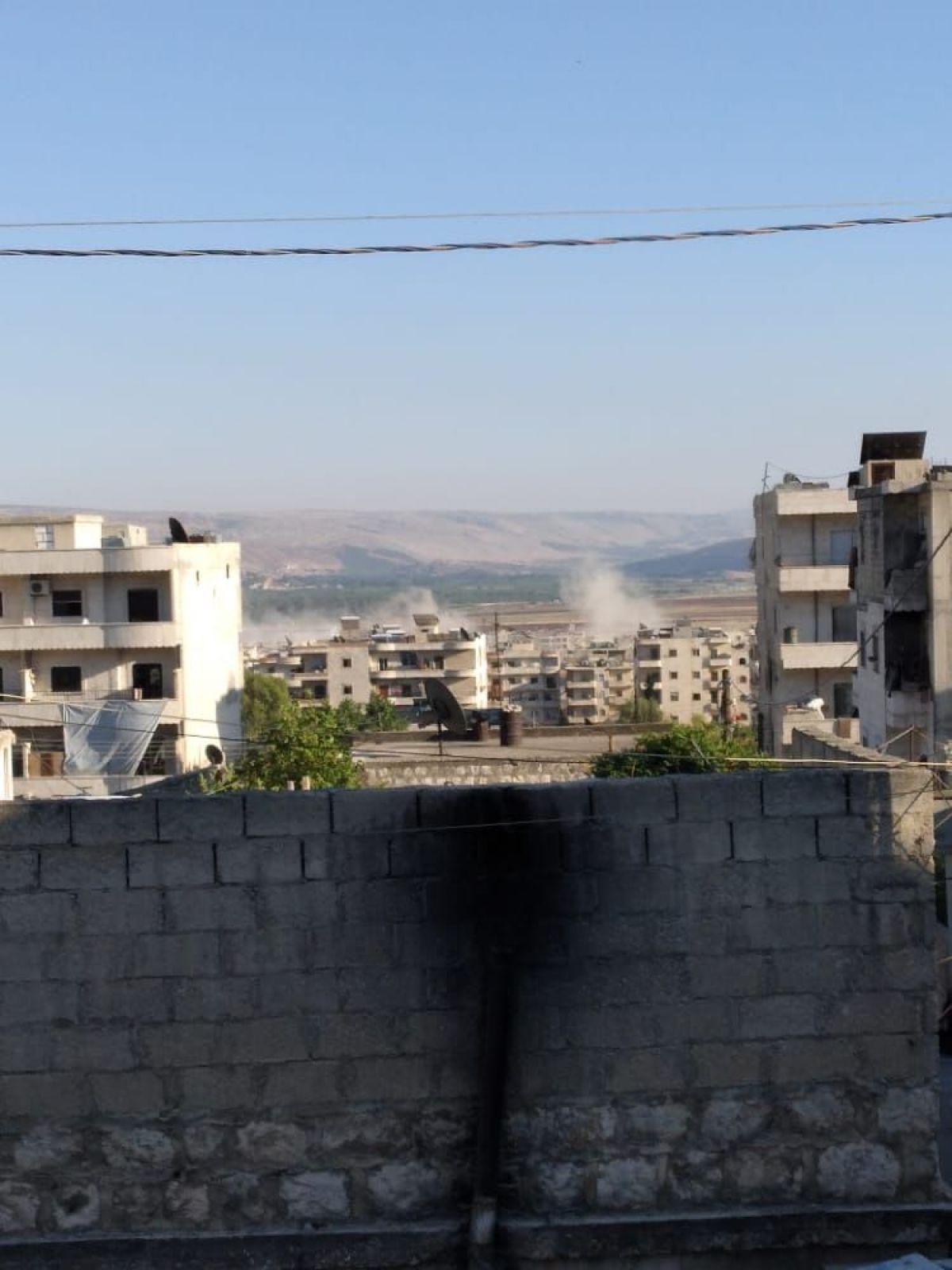 Afrin de terör saldırısıyla hayatını kaybeden 13 sivil toprağa verildi #3