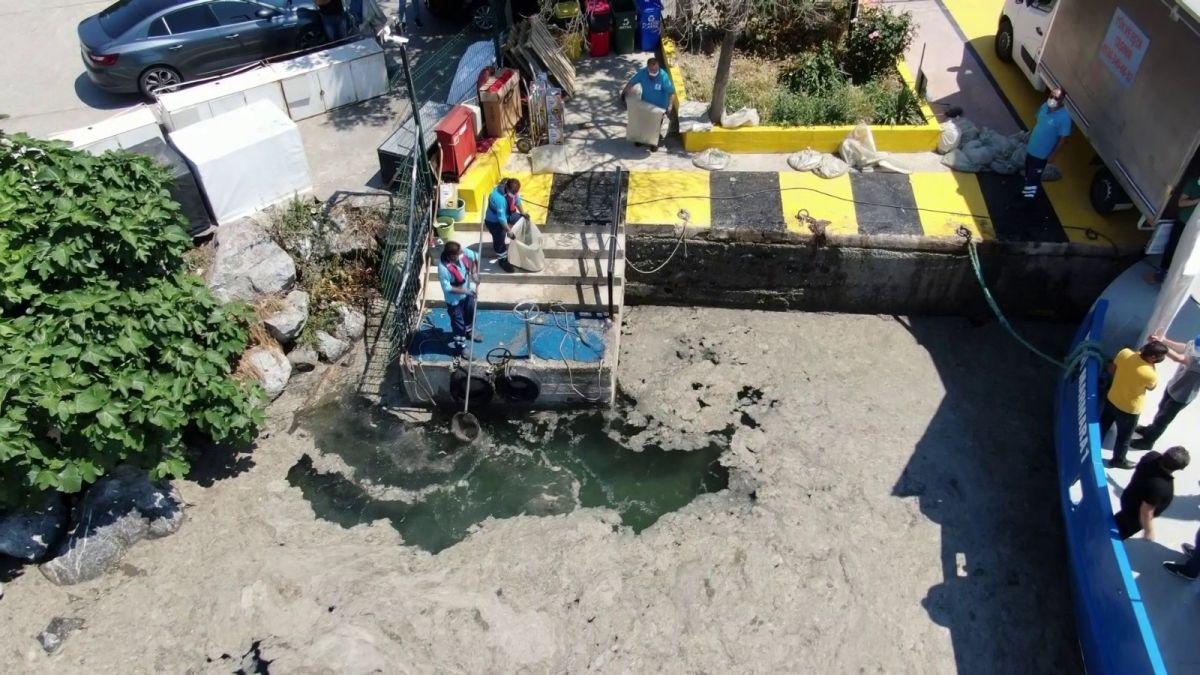 Bostancı'da müsilaj temizliği  #6