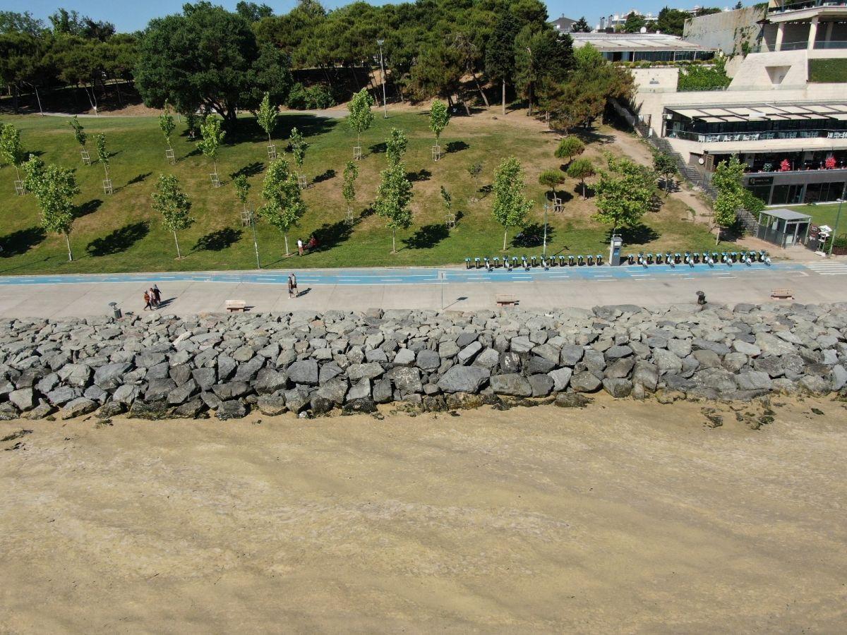 Deniz salyası bu kez Bakırköy kıyılarını sardı #11