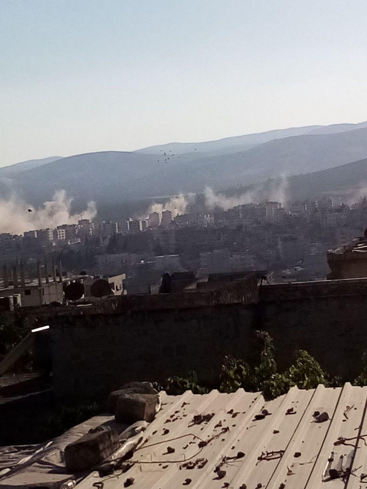 Afrin de terör saldırısıyla hayatını kaybeden 13 sivil toprağa verildi #5