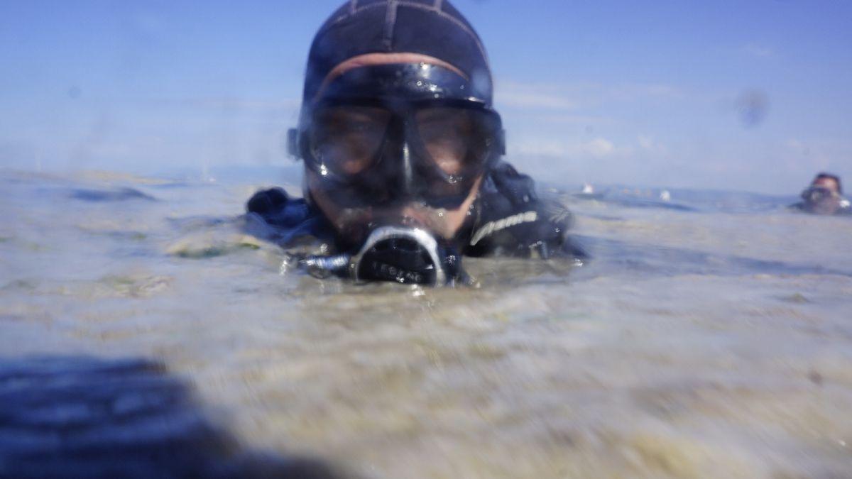 Kocaeli de dalgıçlar, 15 metre derinden Marmara Denizi için haykırdı #3
