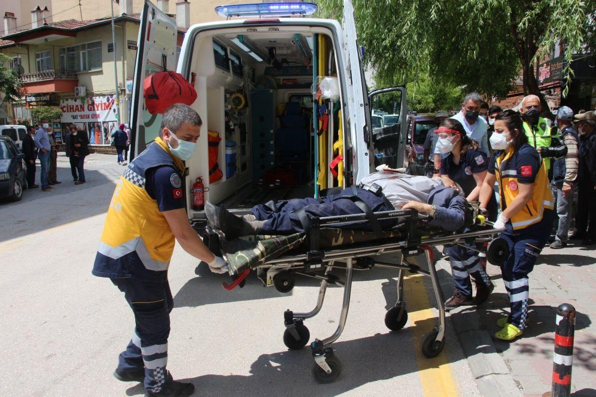 Bolu'da miras kavgası kanlı bitti: 1 yaralı #1