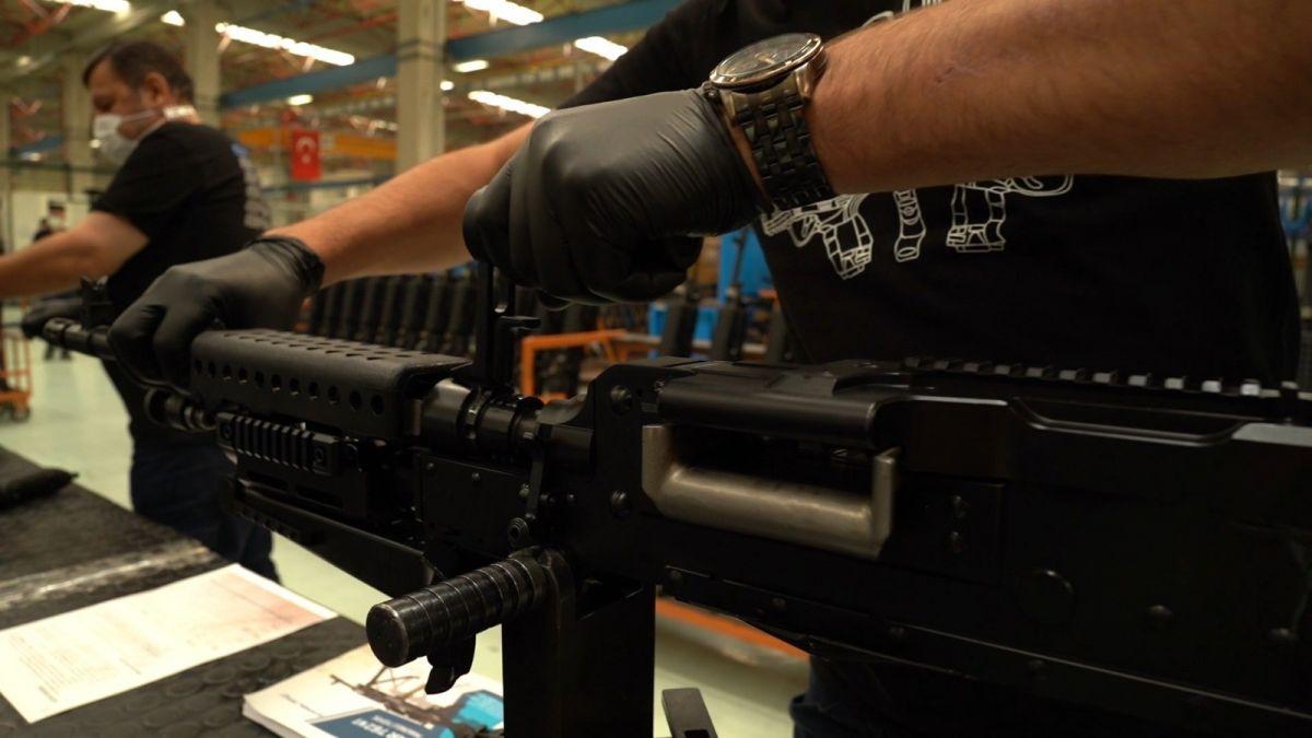 Yerli ve milli makineli tüfek  SAR 762 MT  görücüye çıktı #3