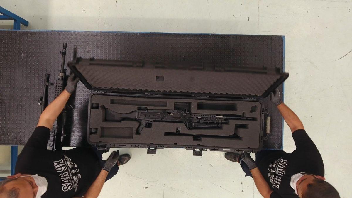 Yerli ve milli makineli tüfek  SAR 762 MT  görücüye çıktı #4