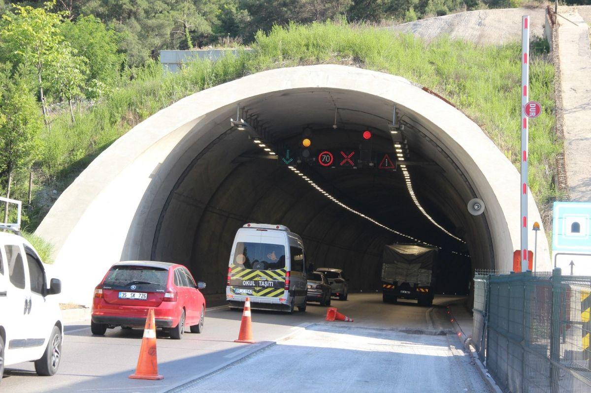 Sabuncubeli Tüneli sayesinde 305 milyon lira tasarruf edildi #5