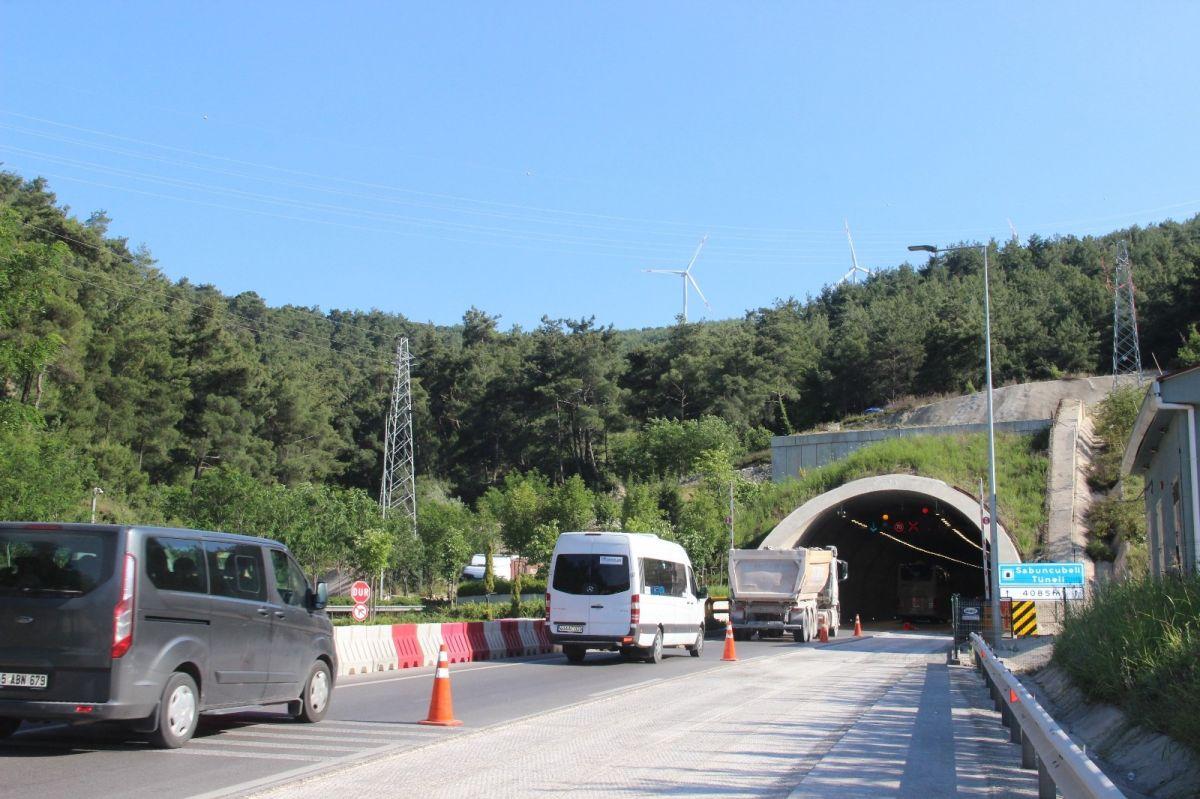 Sabuncubeli Tüneli sayesinde 305 milyon lira tasarruf edildi #6