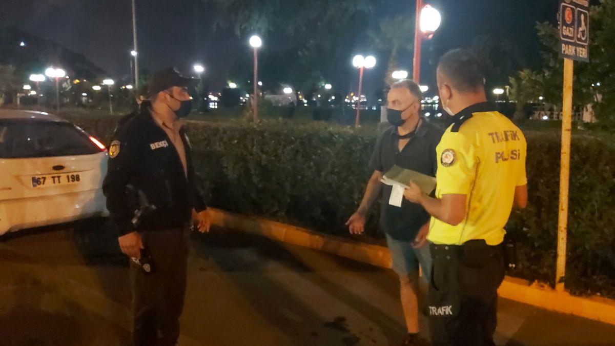 Zonguldak ta polislere hakaret eden şahıs gözaltına alındı #2