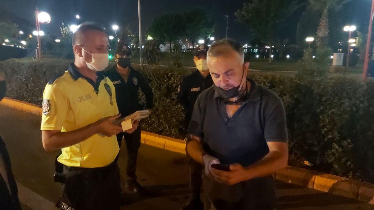 Zonguldak ta polislere hakaret eden şahıs gözaltına alındı #3