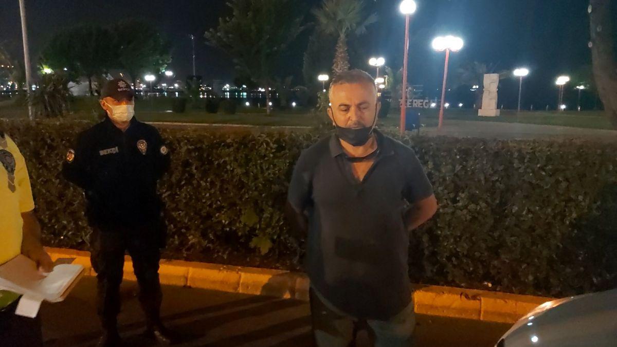 Zonguldak ta polislere hakaret eden şahıs gözaltına alındı #4