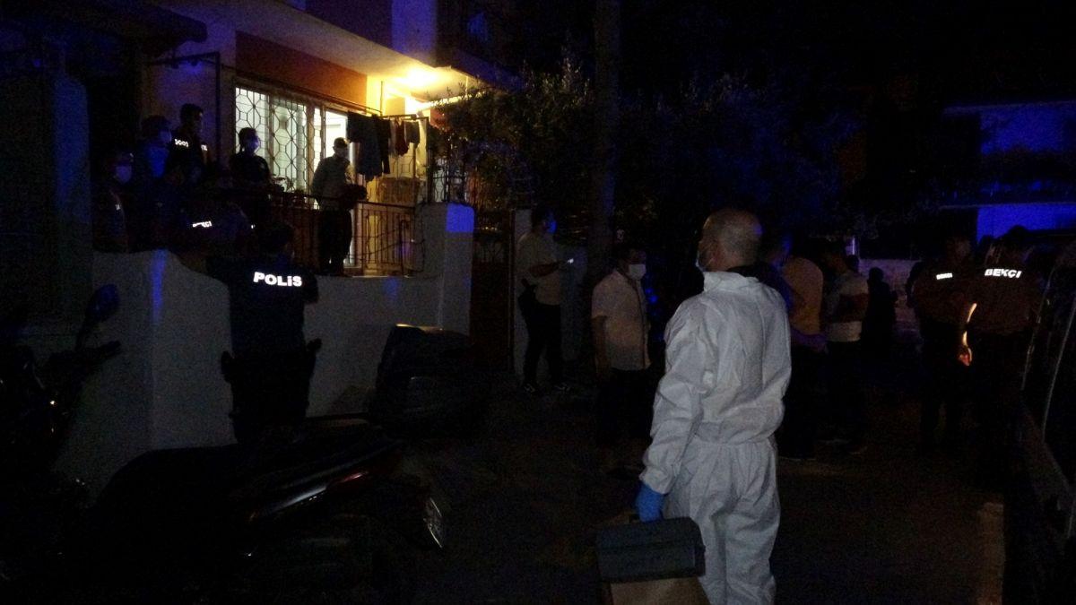 İzmir de annesini öldürüp cesedini çuvalla balkona bıraktı #8