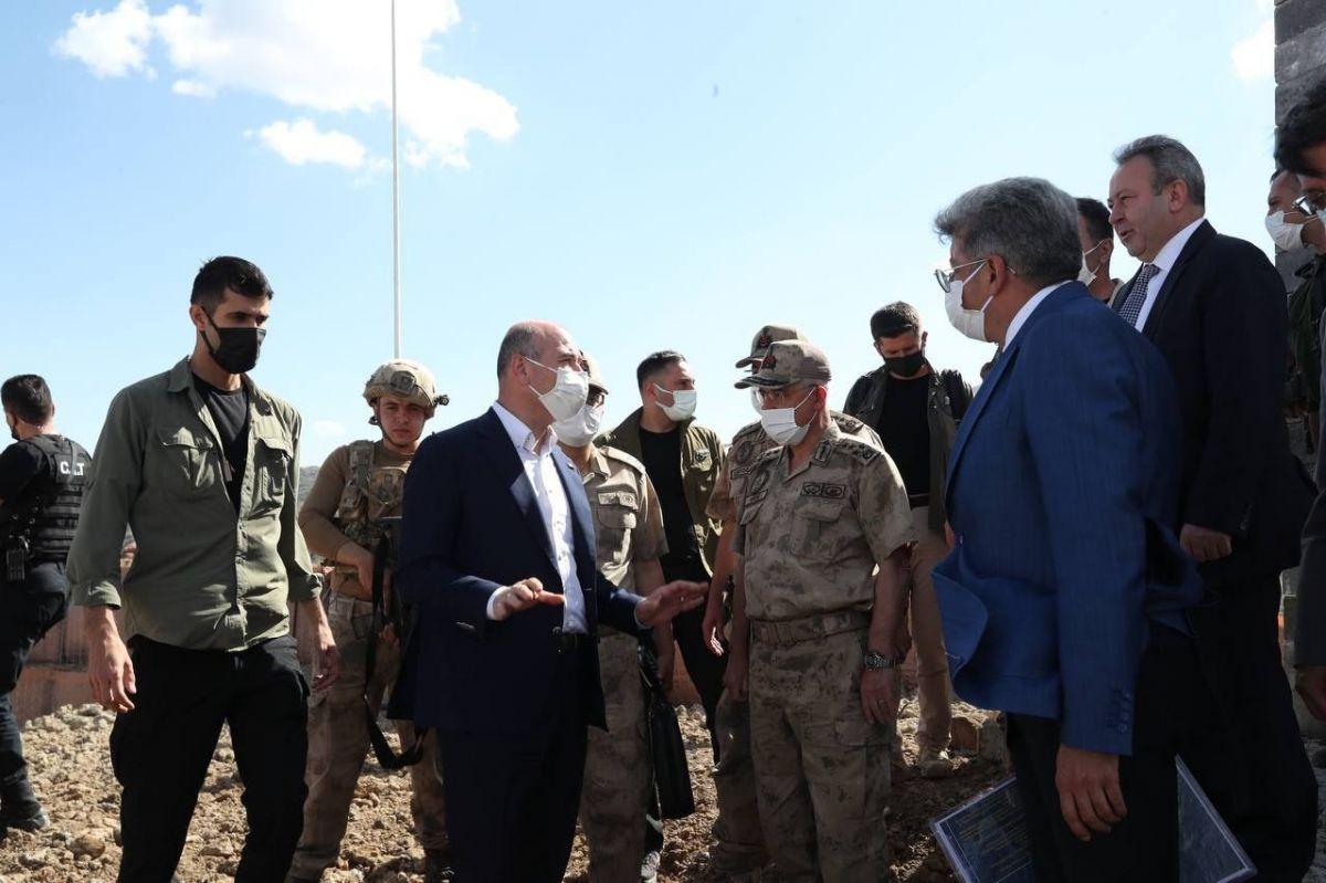 Süleyman Soylu, Van da askeri üs bölgesini ziyaret etti #3