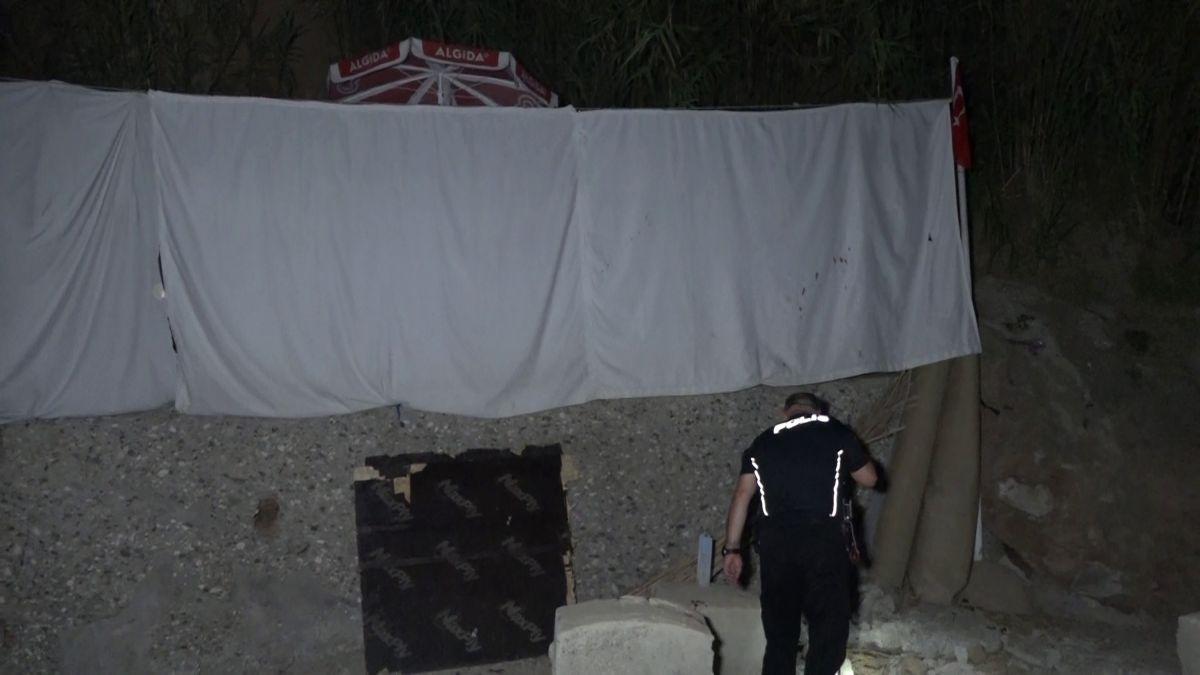 Antalya da denizi kirletme kavgasında 2 kişi falçatayla yaralandı #3
