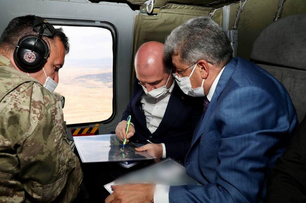 Süleyman Soylu, Van da askeri üs bölgesini ziyaret etti #1
