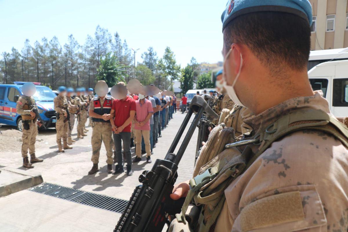 Diyarbakır da narko-terör operasyonu: 73 gözaltı #6