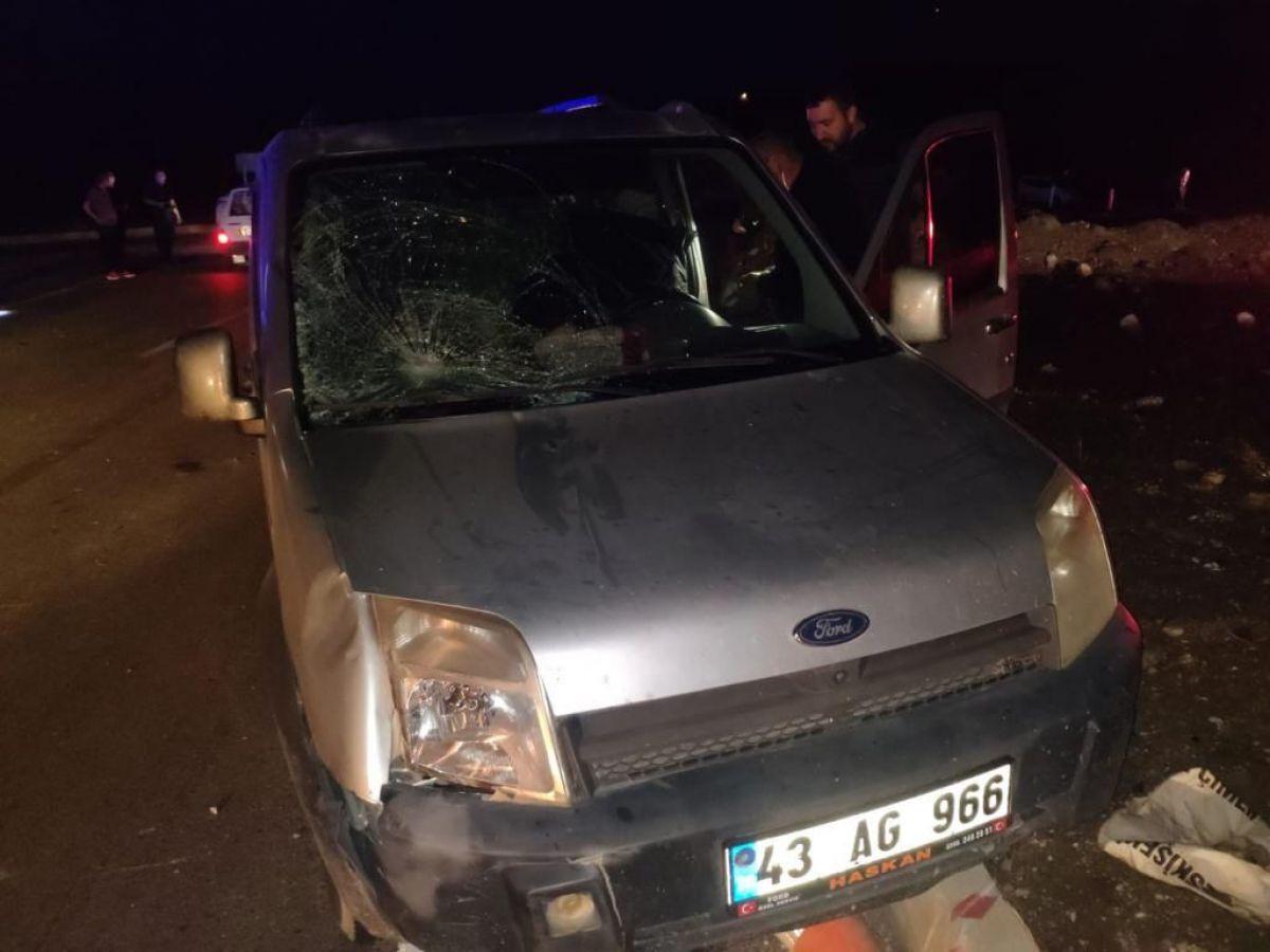 Kütahya da, polis memuru aracın çarpması sonucu şehit oldu #2