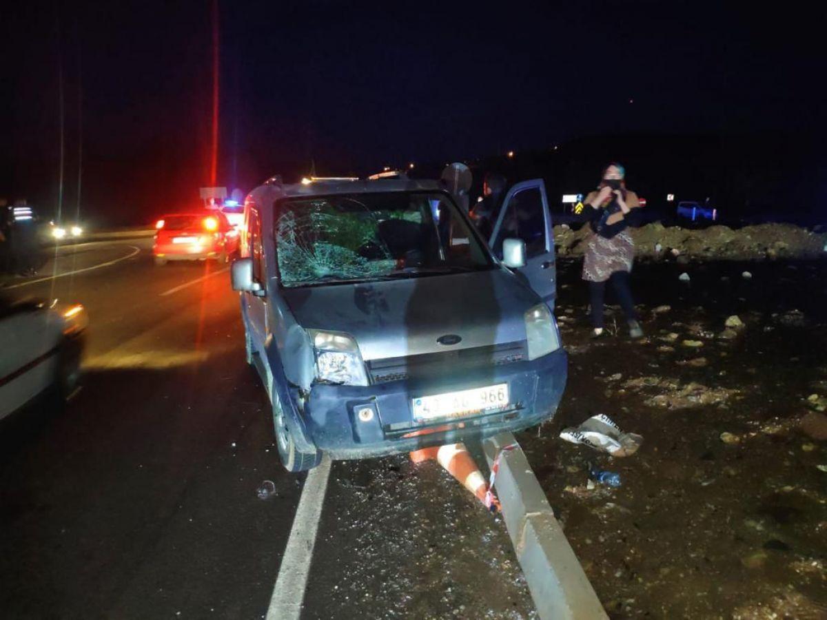 Kütahya da, polis memuru aracın çarpması sonucu şehit oldu #3