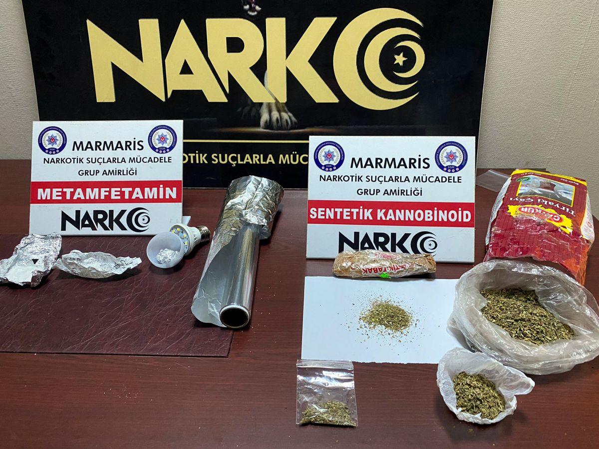 Muğla da uyuşturucu operasyonu: 2 tutuklama #1