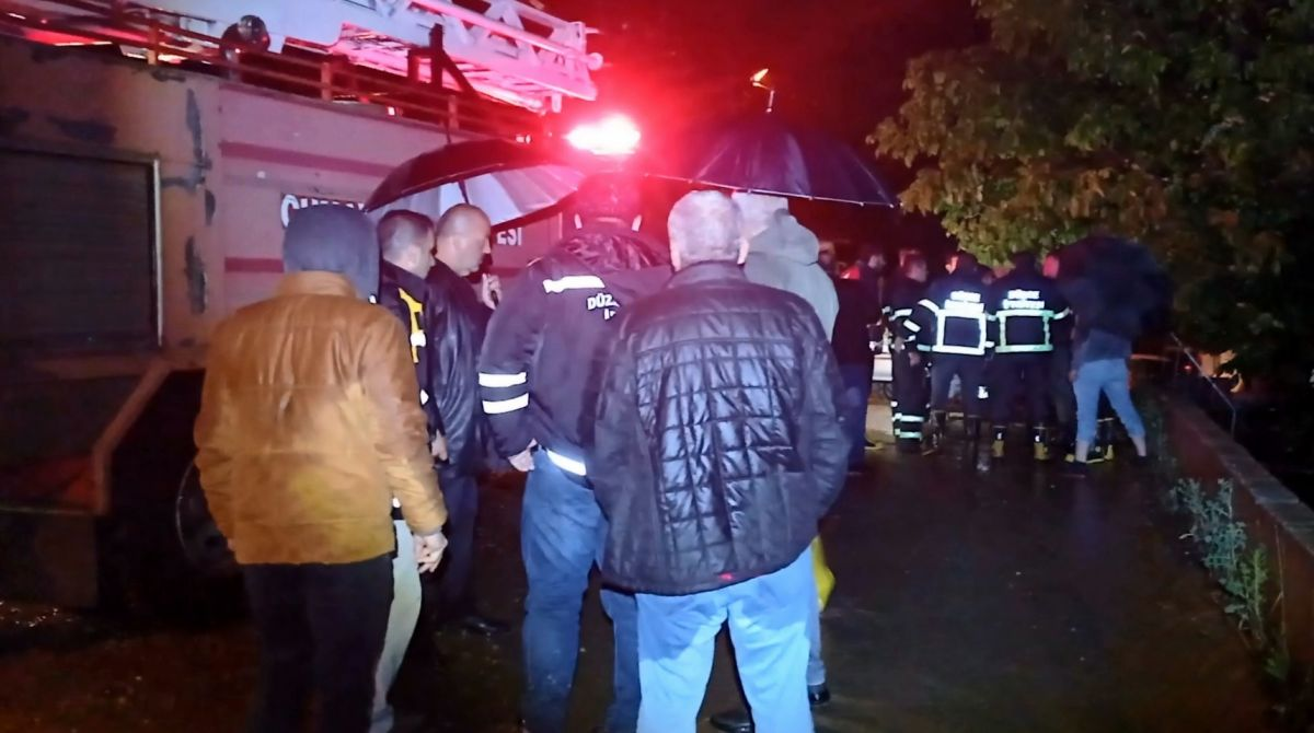 Düzce de sel: Zonguldak yolu çift yönlü kapatıldı #4