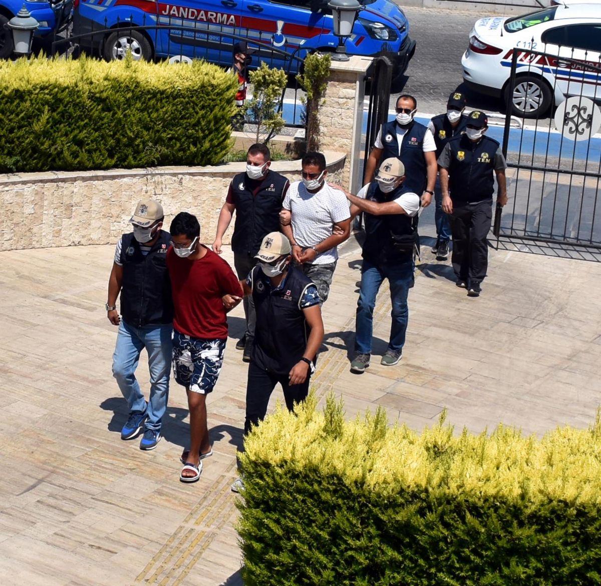 Yunanistan a kaçmaya çalışan PKK lı terörist, Marmaris te yakalandı #3