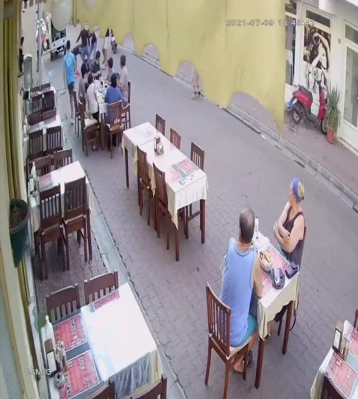 Marmaris te restoranda çıkan kavgada bir kişi öldüresiye dövüldü #3