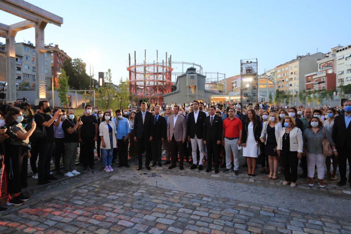 İBB Başkanı İmamoğlu, Müze Gazhane nin açılışını yaptı #3