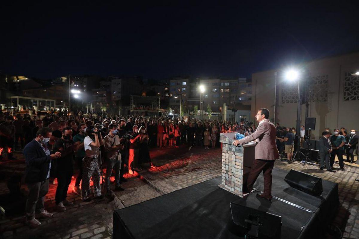 İBB Başkanı İmamoğlu, Müze Gazhane nin açılışını yaptı #4