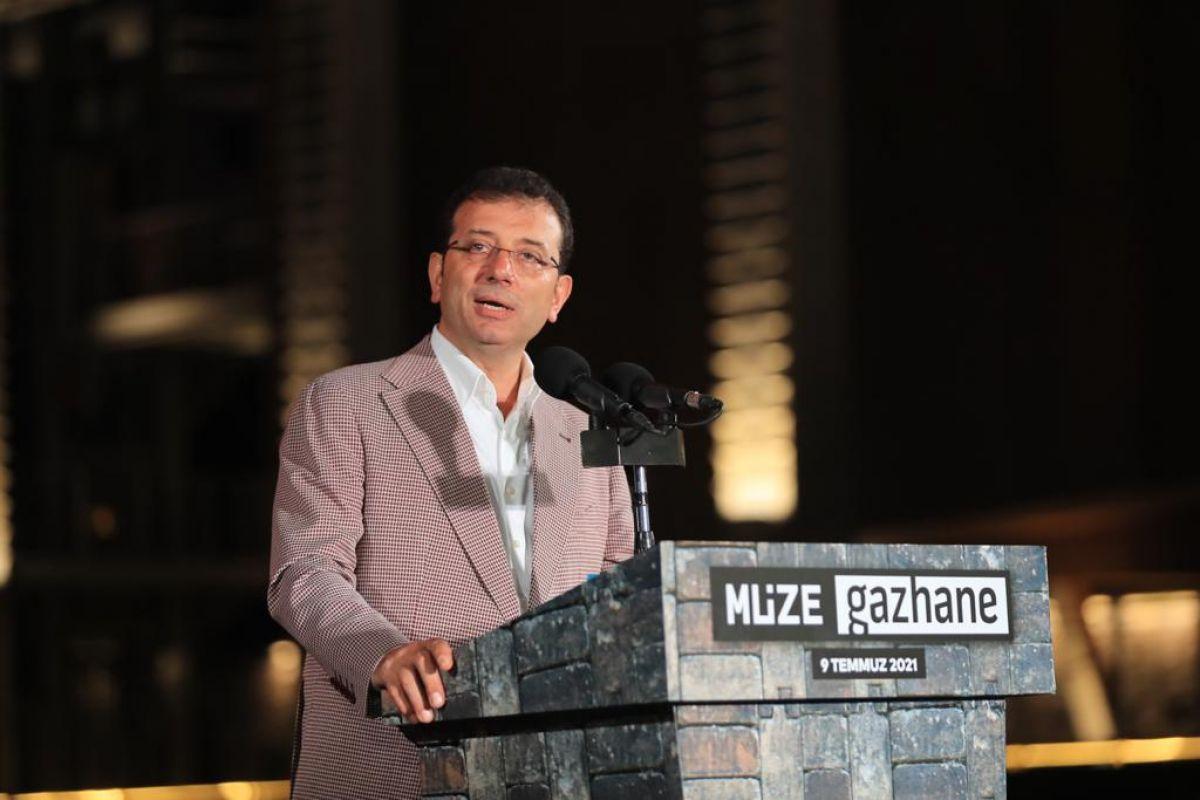 İBB Başkanı İmamoğlu, Müze Gazhane nin açılışını yaptı #1
