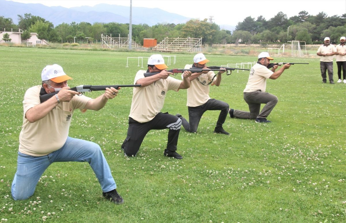 Erzincan da  kurban yakalama timi  antrenmanlara başladı  #2