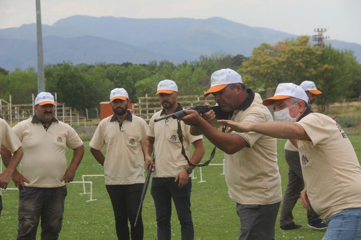 Erzincan da  kurban yakalama timi  antrenmanlara başladı  #3