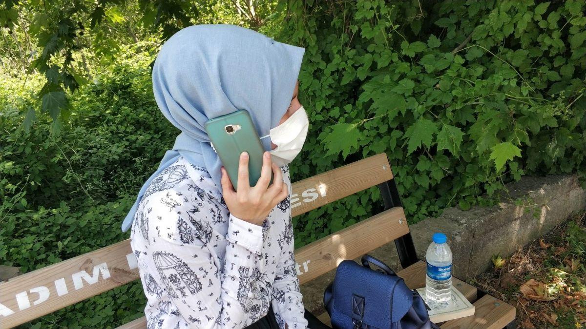 Samsun da ehliyet sınavında şarampole uçtu #5
