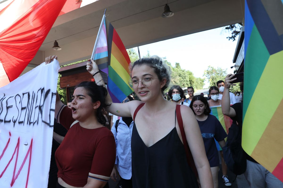 Boğaziçi Üniversitesi ne atanan yeni rektör de protesto edildi #2