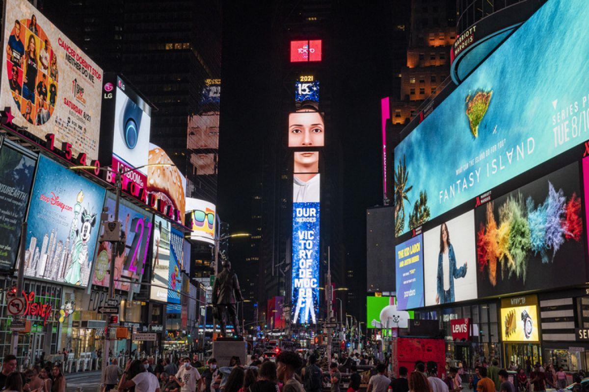 New York'un Times Meydanı nda 15 Temmuz: Türkiye Geçilmez #5