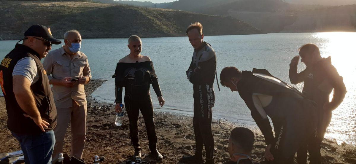 Amasya da barajda kaybolan 5 kişilik aileden 2 sinin cesedine ulaşıldı #7