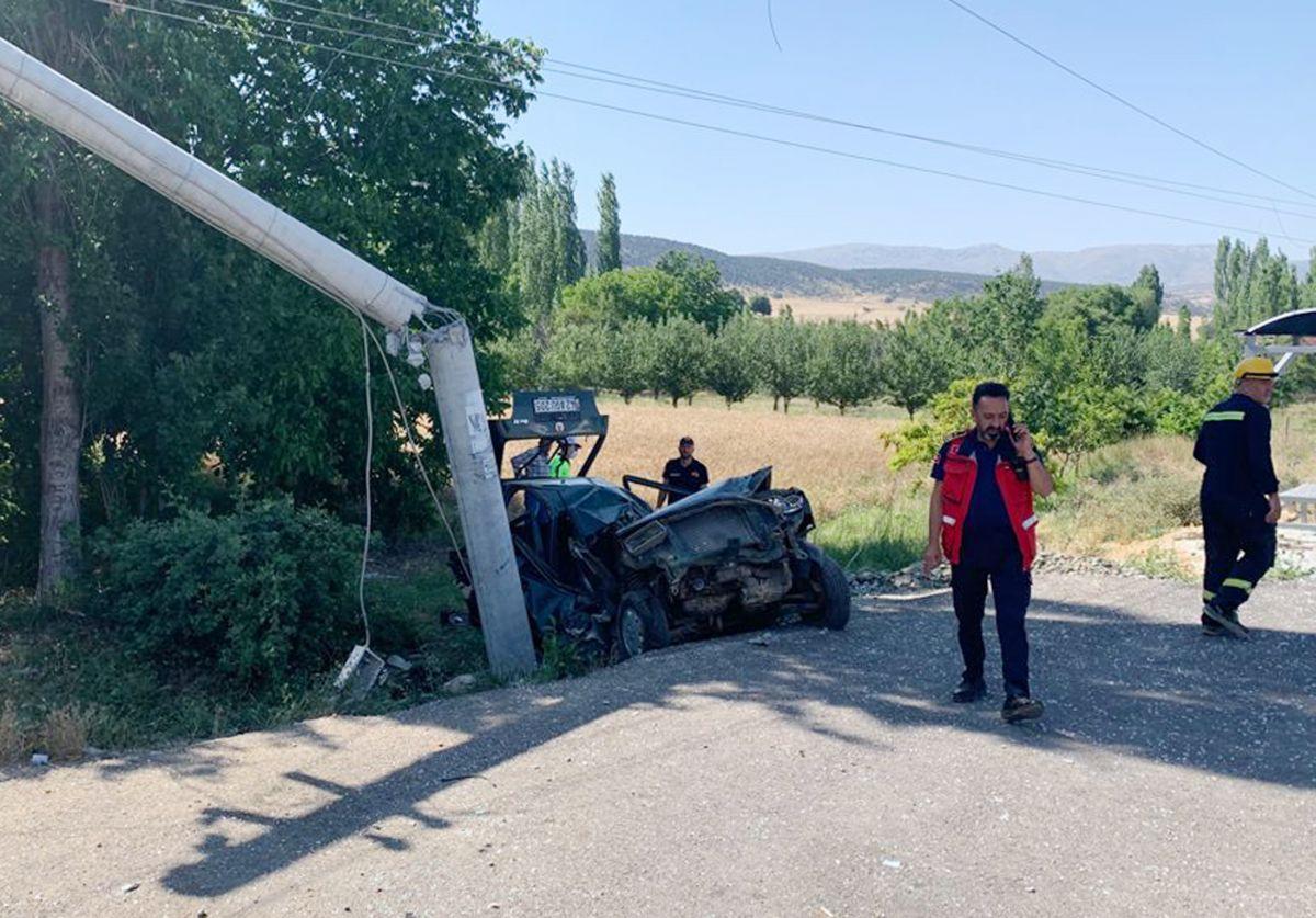 Isparta da trafik kazası: 2 si ağır 5 yaralı #2