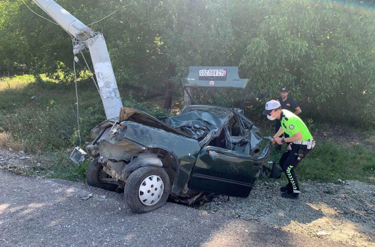 Isparta da trafik kazası: 2 si ağır 5 yaralı #1