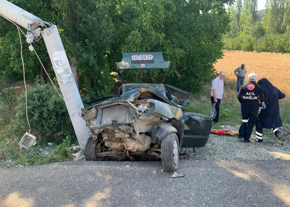 Isparta da trafik kazası: 2 si ağır 5 yaralı #3