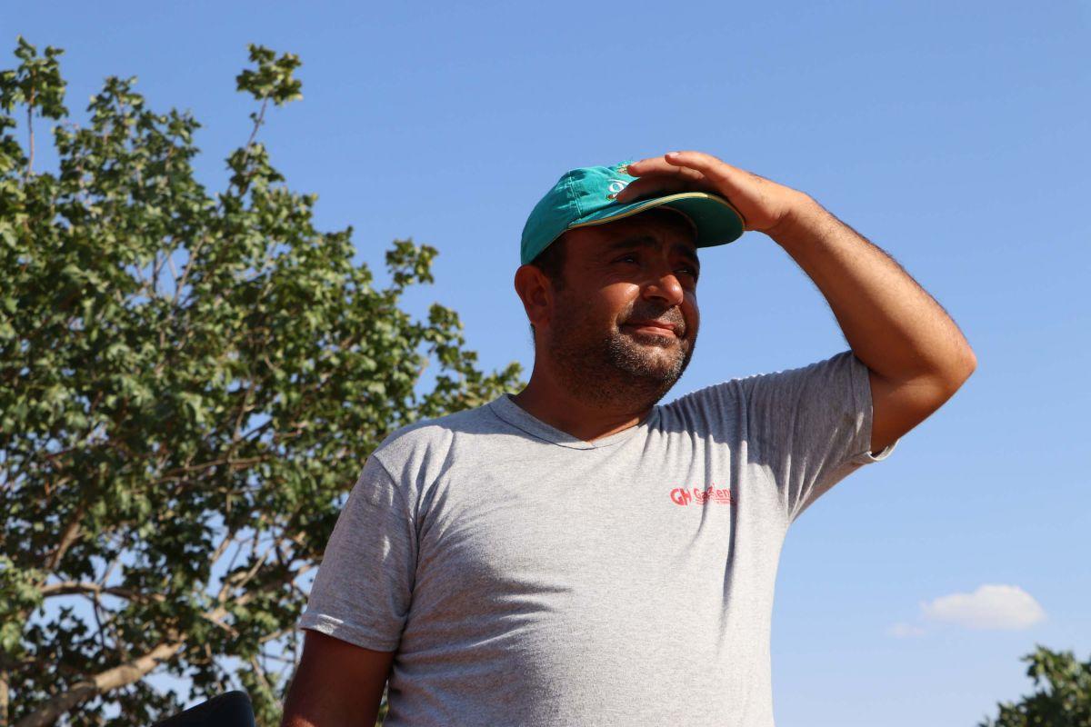 Gaziantep te bekçiler, silahla Antep fıstığı nöbeti tutuyor #10