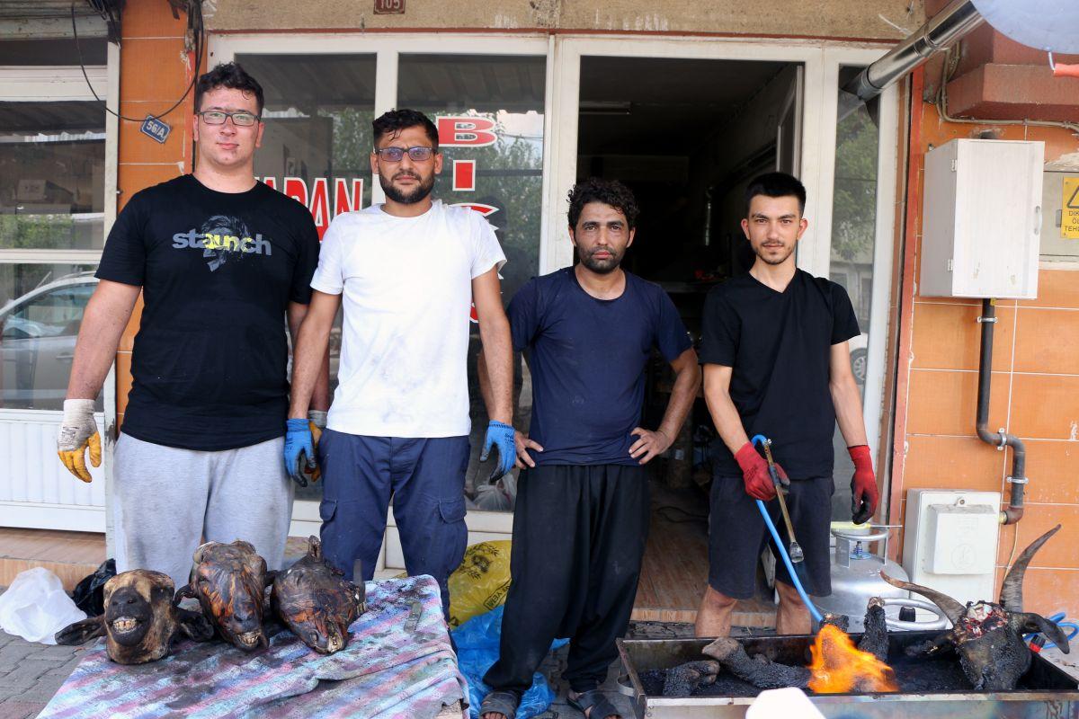 Adana da temizlenen kurban kelleleri, ek kazanç sağladı #6