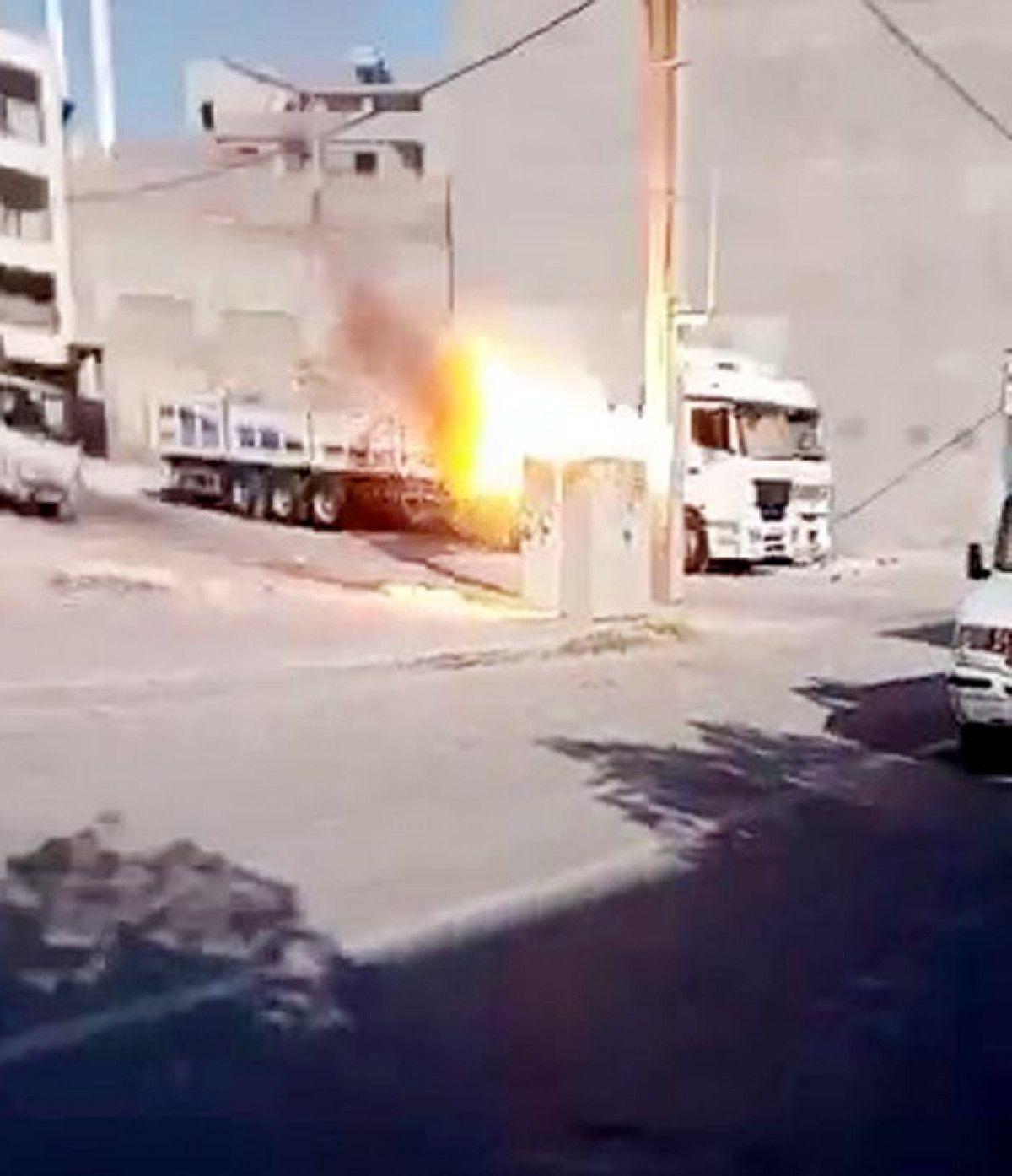 Şanlıurfa da patlayan elektrik trafosu, panik yarattı #1