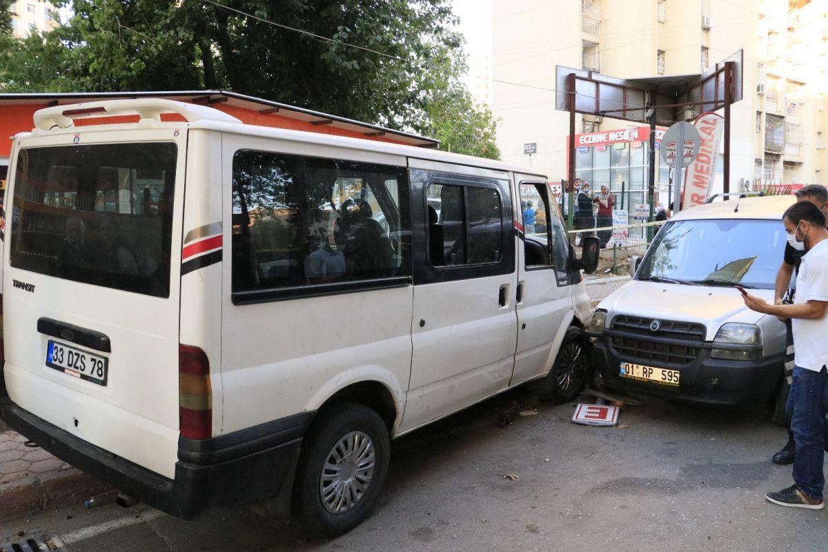 Adana da hastane otoparkında silahlı saldırıya uğrayan baba ile oğlu yaralandı #4