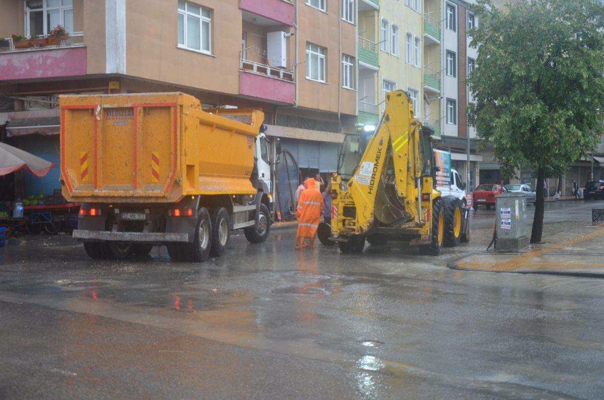 Ordu da sağanak yağış etkili oldu #6