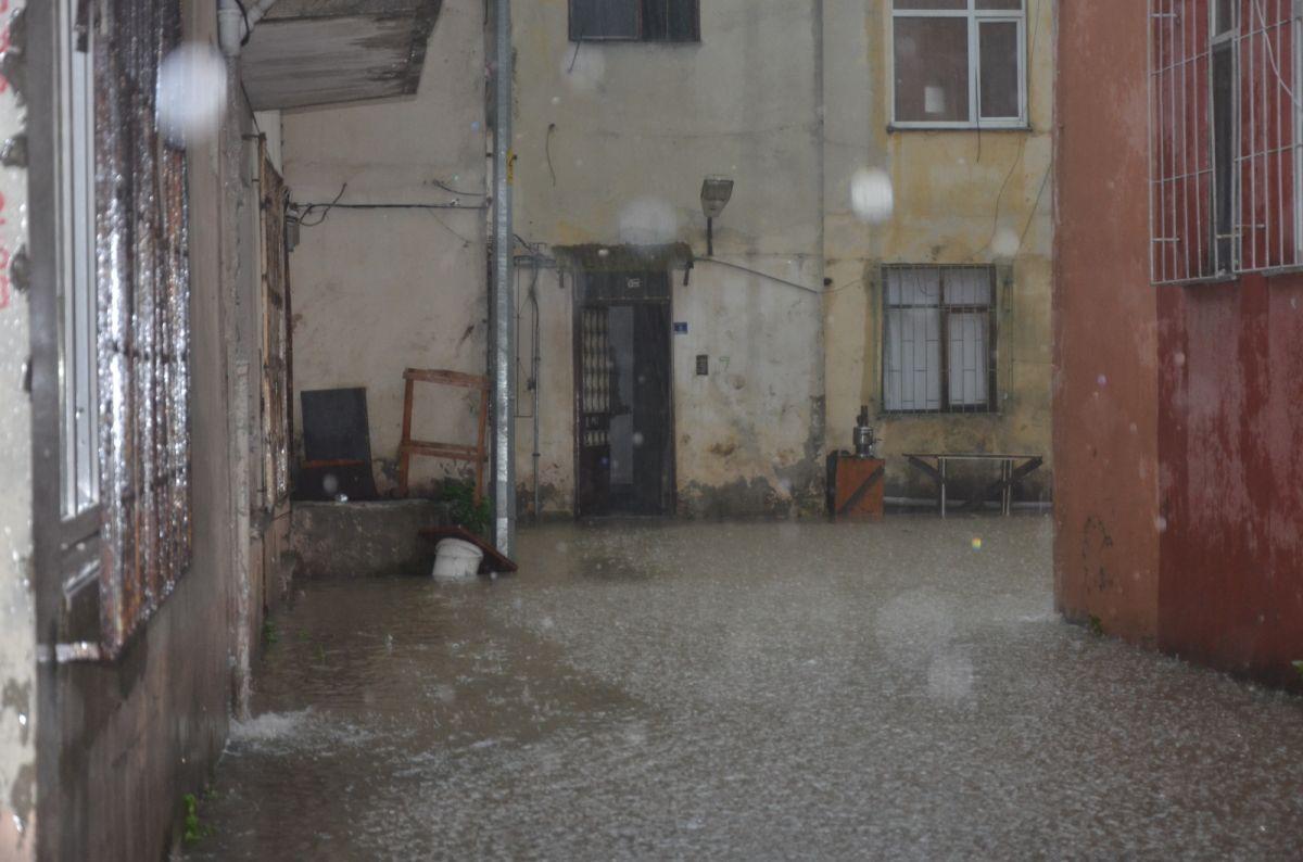 Ordu da sağanak yağış etkili oldu #4
