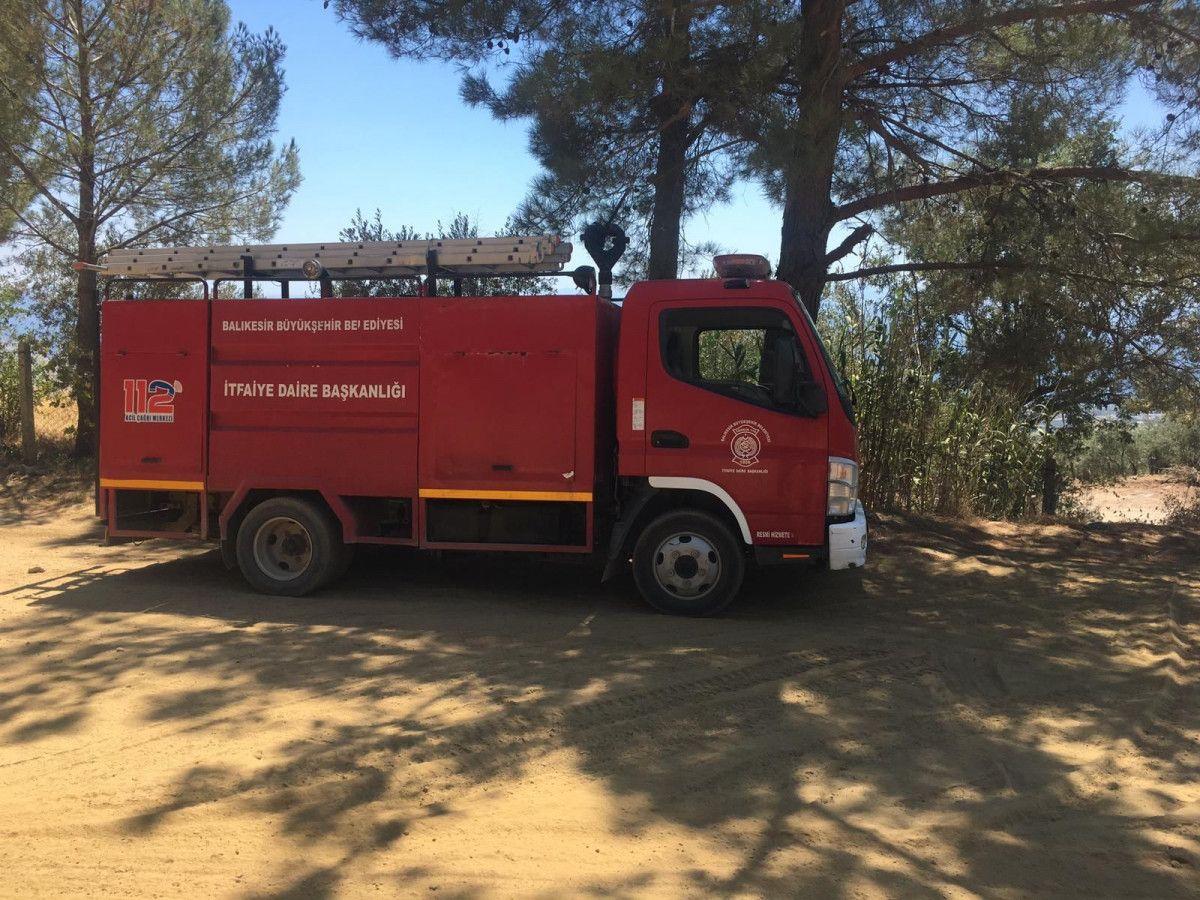 Kazdağları nı yangınlara karşı komandolar korumaya aldı #9