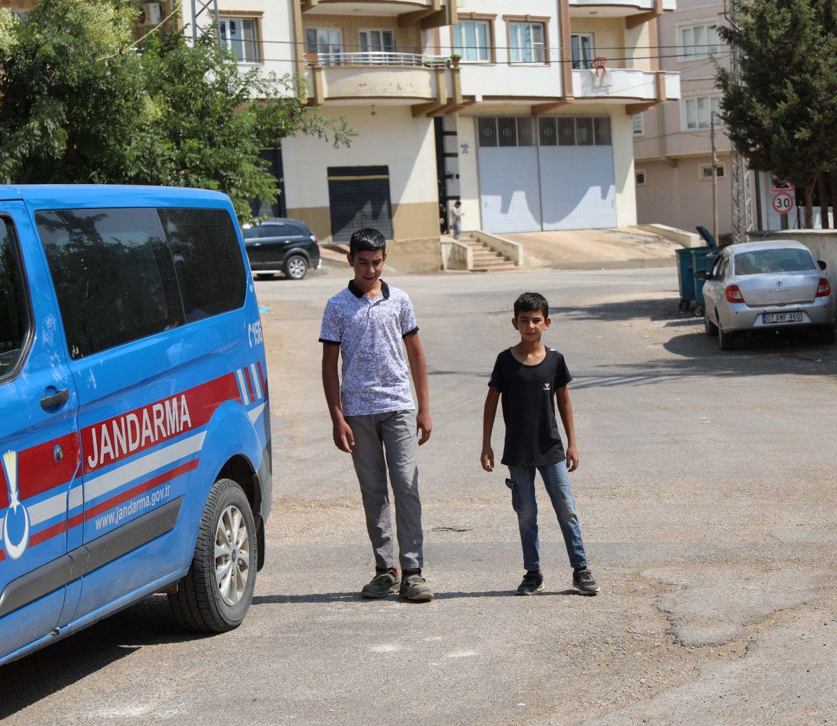 Gaziantep te keçileri kaybettiği için saklanan kardeşler bulundu #2