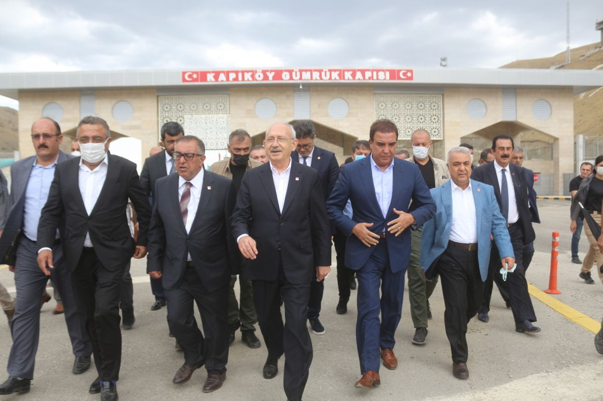 Kemal Kılıçdaroğlu nda Kapıköy Sınır Kapısı nı ziyaret  #3