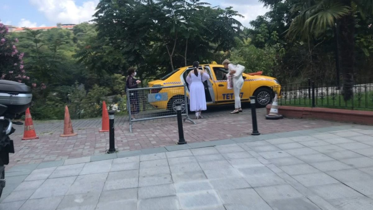 Taksim den Maçka ya 200 lira isteyen taksici engellendi #4