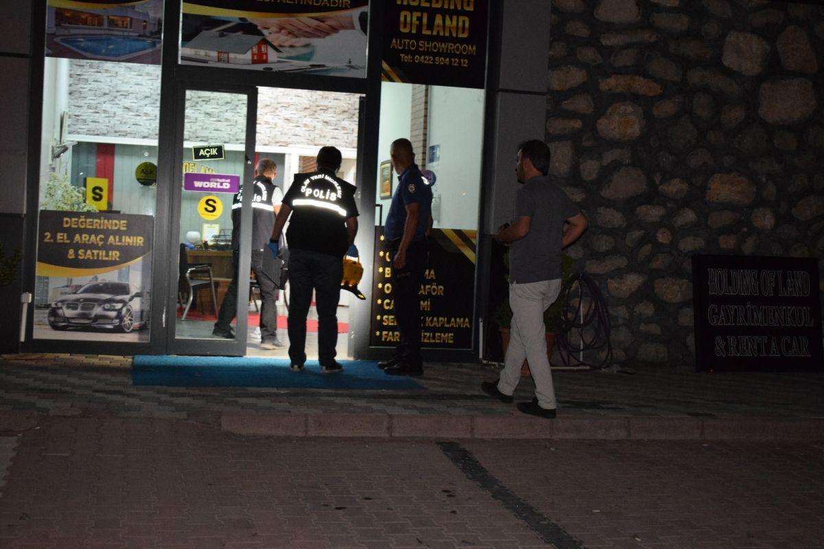 Malatya da kendisini yaralayan şahsı 4 gün sonra iş yerinde vurdu #4
